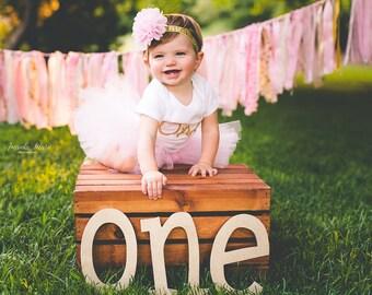 Cake Smash Outfit Girl Tutu, First Birthday Outfit Girl Tutu, 1st Birthday Outfit Tutu Skirt, Tulle Skirt, SEWN Tutu, Newborn Tutu Gift