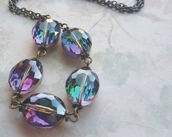 Rainbow Connections Necklace
