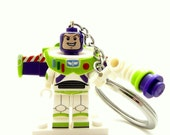 Buzz Lightyear® Inspired Keychain *LAST ONE* Toy Story® Fan Art - Fan Art Crafted From LEGO® Elements