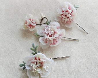 bridal hair hair pins, flower hair pins, bridal headpiece, wedding hair piece, floral hair clips, bridal hair accessories, bridal hair clip