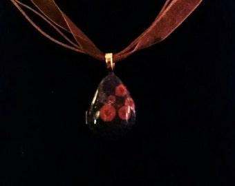 Poppy Jasper pendant