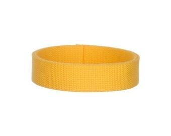wide yellow belt etsy