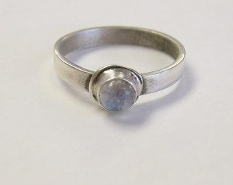 Moonstone Ring, rainbow moonstone ring, gemstone rings, gemstone jewelry, goddess energy ring, wedding, symbolic jewelry
