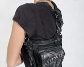 Apocalyptic Distress hip and shoulder holster Bag