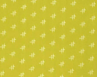 Momentum by Heather Bailey - Cotton VOILE fabric - Factor HB006 Gold - 1 yard