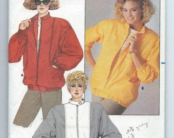 Butterick 3598 Misses' Jacket- Size 8-10-12 - Uncut Vintage Pattern
