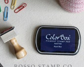 Royal Blue Pigment Ink Pad - ColorBox Pigment Ink Pad - Blue Ink Pad