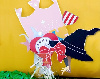 Wizard of Oz Photo Booth Props - 9 Designs, Wicked Witch and Yellow Brick Road - Print at home PDF File (Instant Download)