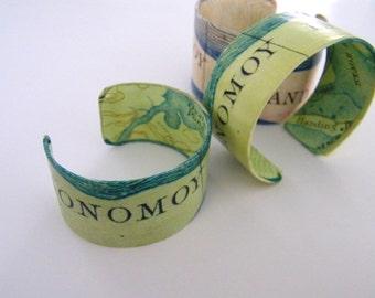 Monomoy Island Cape Cod cuff bracelet - Petite - Chatham Cape Cod