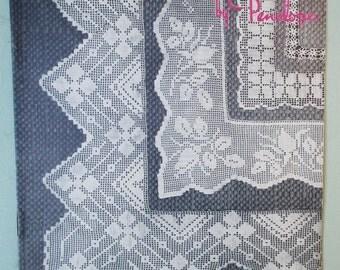 Vintage Crochet Pattern 1940s UK - Laces & Corners Booklet by Penelope - 40s original pattern lace edgings