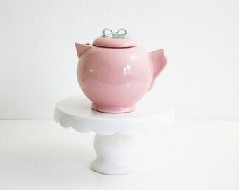 Vintage Dorette Saltzman Cream Pitcher / Mid Century Modern Pastel Pink and Blue Pitcher