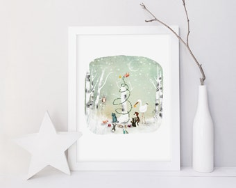 An Enchanted Christmas (alternative version) - Deluxe Edition Print