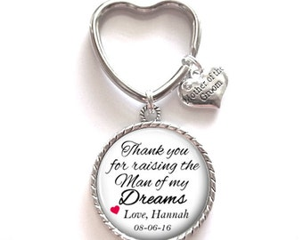 Mother of the Groom Key Chain Gift Style 581