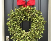 Xl CHRISTMAS Boxwood Wreaths, Artificial Boxwood Wreaths, Boxwood Christmas Wreath, Faux Boxwood Wreaths, Holidays