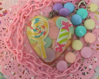 Pastel Candy Necklace