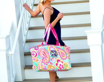 Personalized Utility Tote/Pool Tote/Beach Personalized Bag SALE
