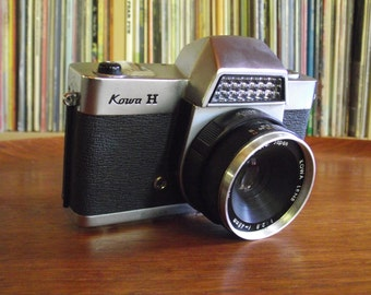 1960's Kowa H SLR 35mm Camera with Half Case