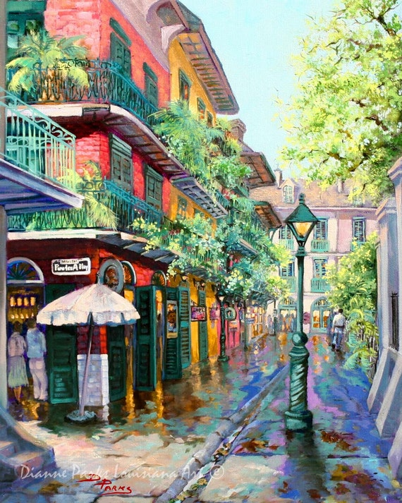 Pirates Alley New Orleans Art French Quarter New by ...