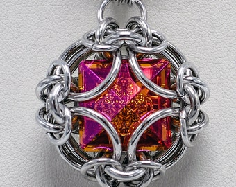 Galaxy Visions Chainmaille Pendant Tutorial - Advanced