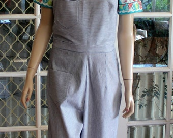1940s WWII Vintage style Overalls. Cute and Comfortable