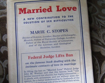 Married Love by Marie Stopes