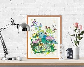 Little Bird Fine Art Print
