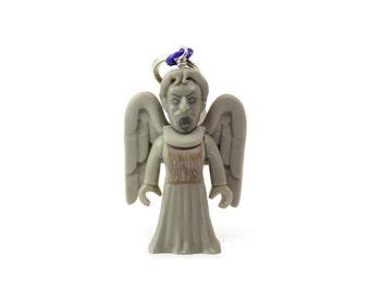Weeping Angel Charm, Weeping Angel Keychain, Doctor Who Keychain, Whovian Keychain, Doctor Who Ornament