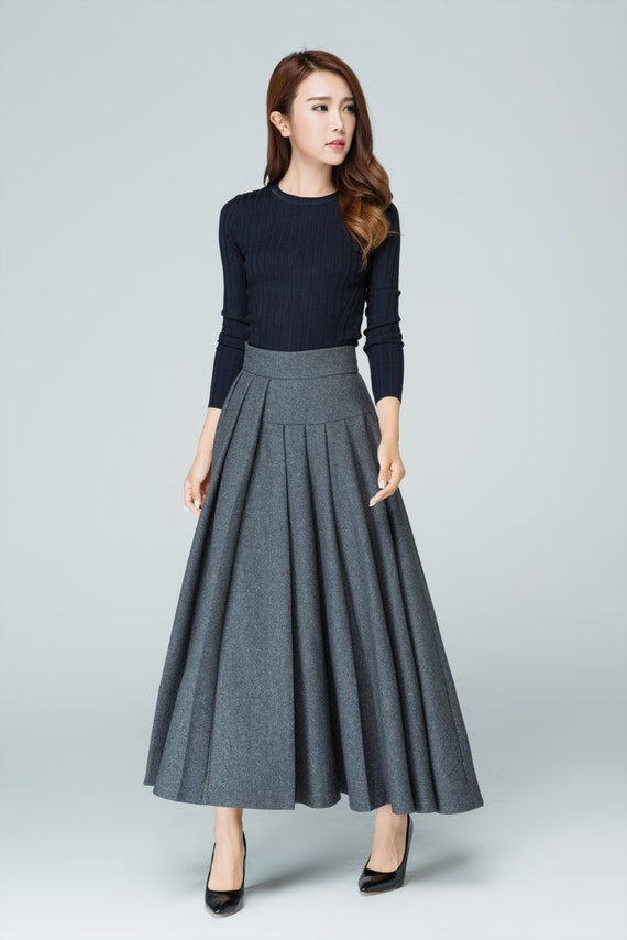 Find Gray long skirts at ShopStyle. Shop the latest collection of Gray long skirts from the most popular stores - all in one place.