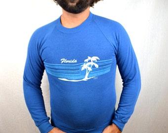 Vintage 1980s Florida Soft and Thin Sweatshirt