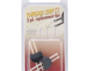 Thread and Cord Zapper Set of 2 Replacement Tips, Fits With The BeadSmith's Cord Zap Cord Burner