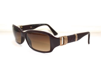 Beautiful  1990s Fendi Sunglasses // 90s Vintage Designer // Italy // Model  fs446
