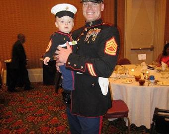 Marine Corps - Marine Corps Baby - Marine Corps Cover - usmc - Newborn Marine Cover - USMC hat - USMC - Military - Hobbyist License #21512