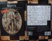 Zombie Adult Coloring book Misfits fantasy lowbrow art big eye girls