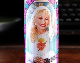Dolly Parton Prayer Candle / Saint Dolly
