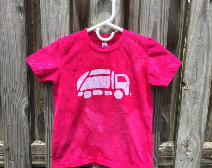 Pink Truck Shirt, Garbage Truck Shirt, Kids Truck Shirt, Kids Truck Shirt, Pink Garbage Truck Shirt, Girls Truck Shirt, Pink Boys Shirt (6)
