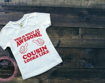 This is what an awesome Cousin looks like shirt cousin shirt