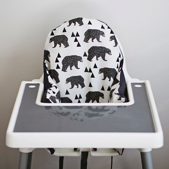 ikea antilop highchair cover geometric bear by. Black Bedroom Furniture Sets. Home Design Ideas