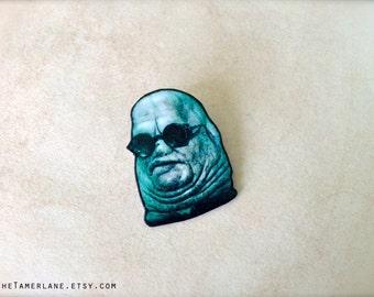 Butterball Hellraiser Cenobites Pin Pinback Button Horror Movie Halloween Art