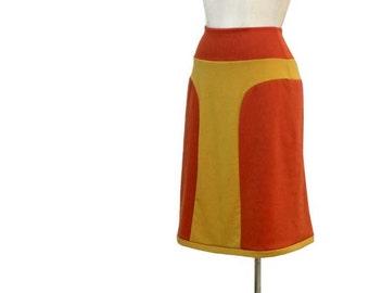 Plus size skirt - womens winter skirt - aline custom skirt - winter skirt
