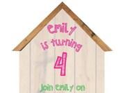 Bird House Party Invitation!