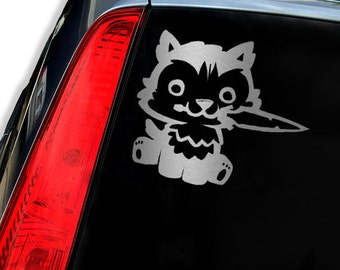 WOLF SWORD Vinyl Decal Sticker - Laptop Decal - Laptop Sticker - Car Sticker - Car Decal