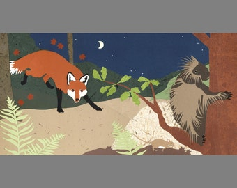 A Day and Night in the Forest, 3:00 am
