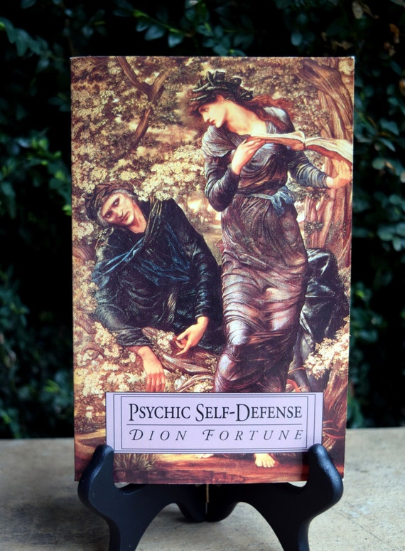 Vintage Book Psychic Self-Defense By Dion Fortune By Besom
