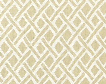 Tread Sand neutral beige brown lattice designer decorative pillow cover