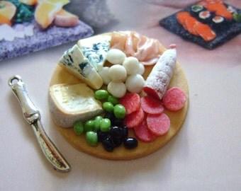 Dollshouse Food , tray with salumi