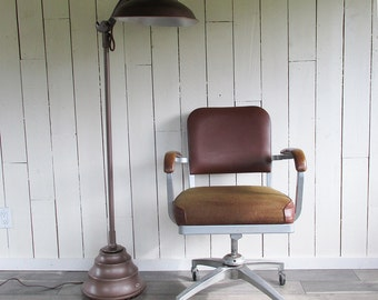 Mid Century Cole Task Chair - Office Chair - Tanker Chair