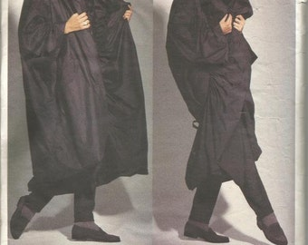 1990s Issey Miyake Avant Garde Cocoon Coat Reversible Vogue 2979 Uncut FF Sizes S - M - L Sizes 8 - 18 Women's Vintage Sewing Patterns