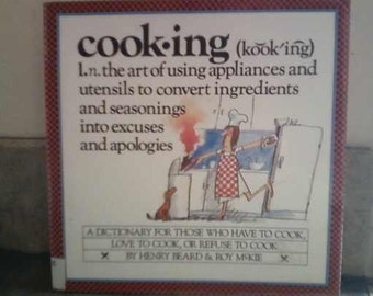 COOKING  A Dictionary  1985