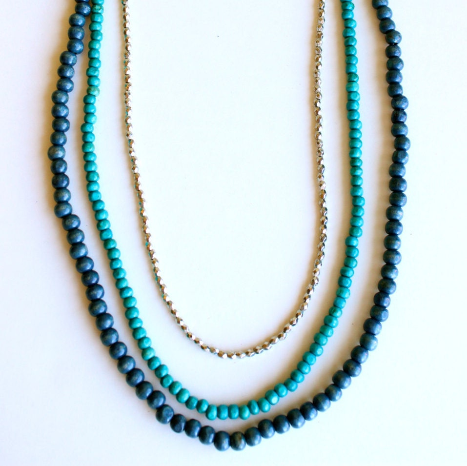 carolina panthers necklace layered and long necklace long. Black Bedroom Furniture Sets. Home Design Ideas
