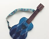 Reserved for Michelle and Linda Blue dolls guitar